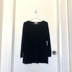Gianni Sport Black Long Sleeve Top